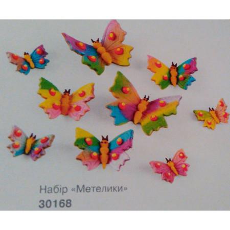 """Сахарный декор """"Бабочки"""""""