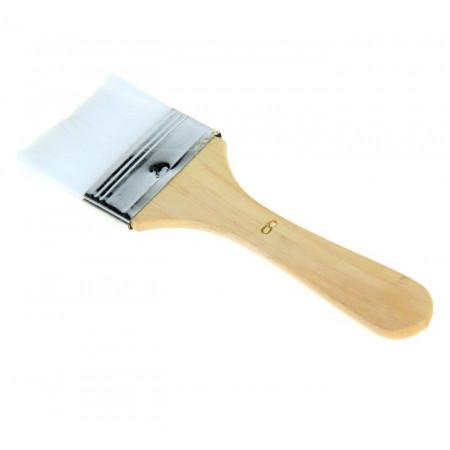 Кисть кондитерская ручка дерево нейлон