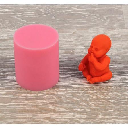 """Молд """"Младенец"""" 3D 5,5х4,5х6 см"""