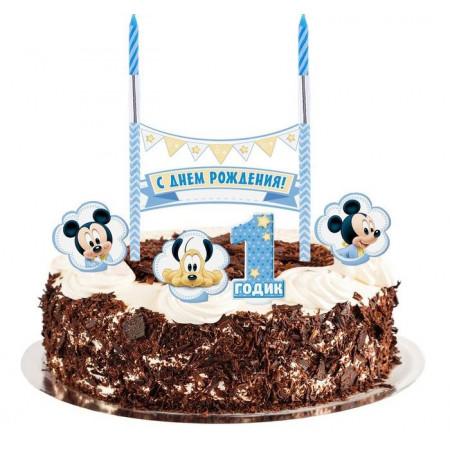 Набор праздничный для торта Микки Маус