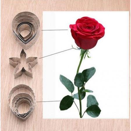 Комплект вырубок для розы