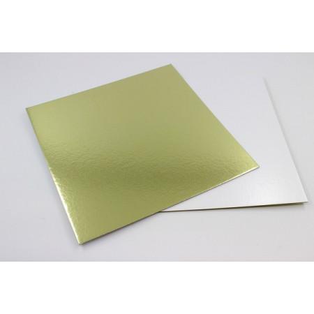 Подложка 260х260 мм толщина 1,5 мм золото/жемчуг