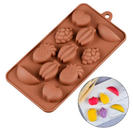 """Форма для шоколада """"Фрукты"""""""