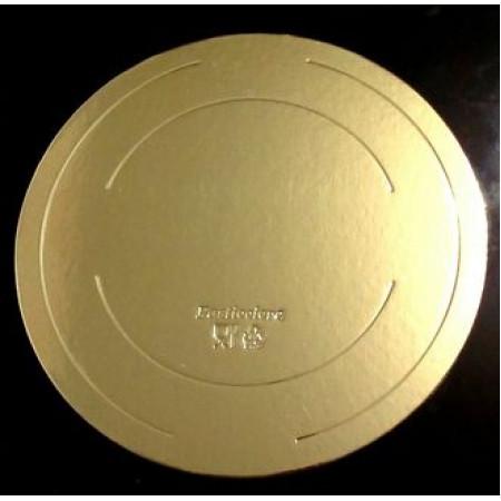 Подложка картонная золото 2.5мм д.240мм