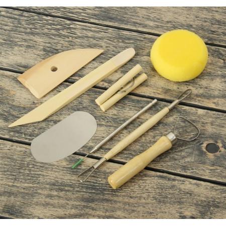 Набор кондитерских инструментов для моделирования, 8 предметов